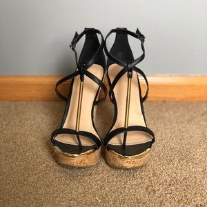 NWOT Wedge Sandals